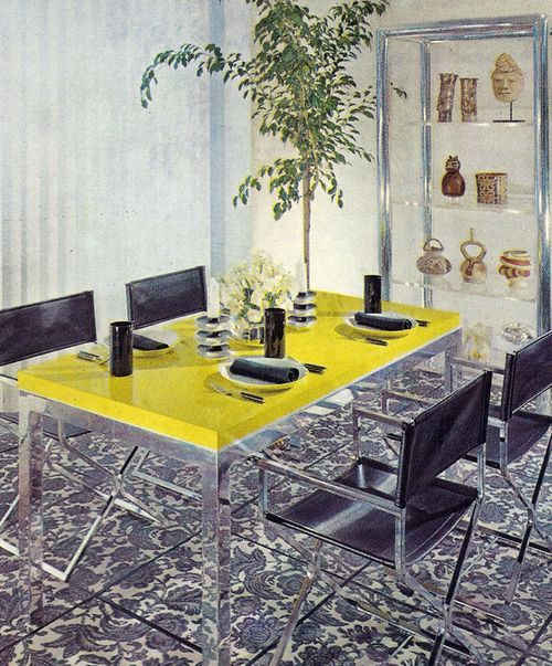 Best 25 Yellow Dining Room Ideas On Pinterest