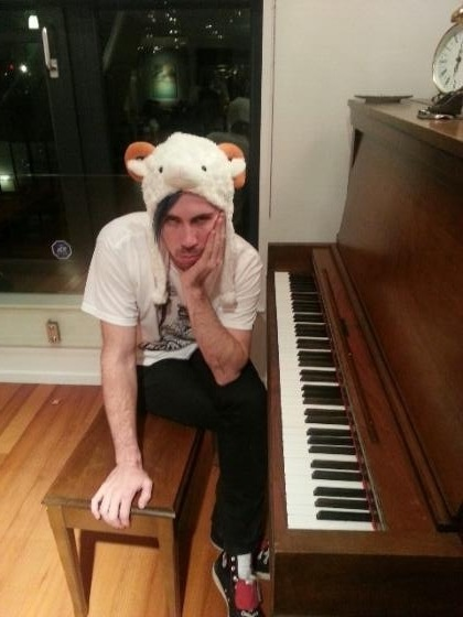 Josh <3 (p.s. he's working on a new song!!!!!)