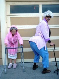 Grandma & Grandpa Costumes