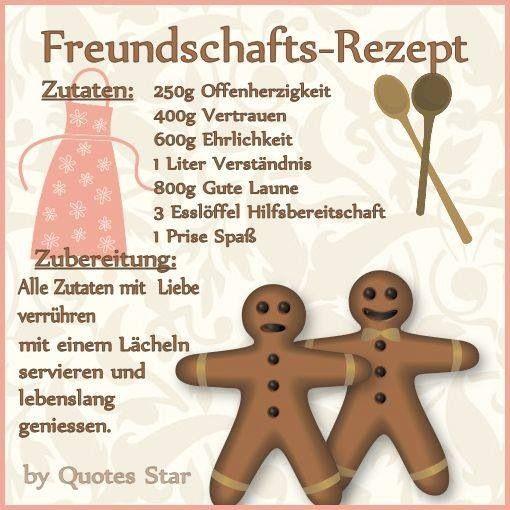 richtig lieb  :-)   -Freundschaft