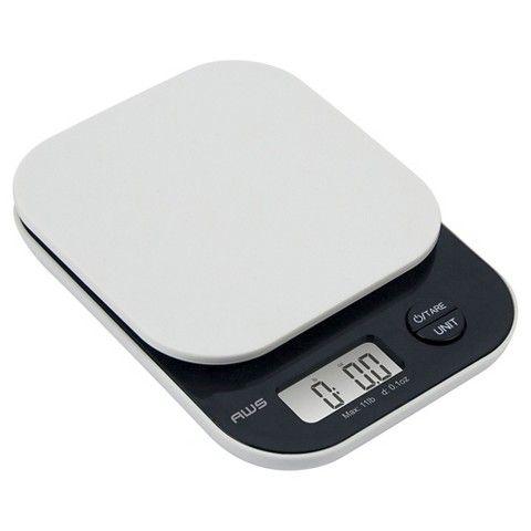 AWS Digital Kitchen Scale -  White