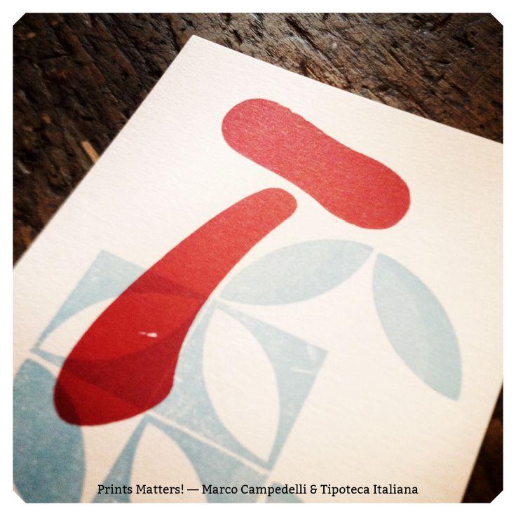 """— T — """"Print Matters!"""" è una collaborazione di Marco Campedelli & Tipoteca Italiana — presso Tipoteca Italiana. #printmatters! #marcocampedelli #tipotecaitaliana #letterpress #index"""