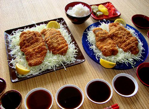 This is going to be dinner tonight. Chicken Tonkatsu with Tonkatsu sauce on a bed of Brussel Sprouts. (this picture is from tastyislandhawaii.com)