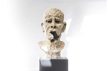 Souvenons-nous que la Guerre défigure - sculpture Gueule Cassée