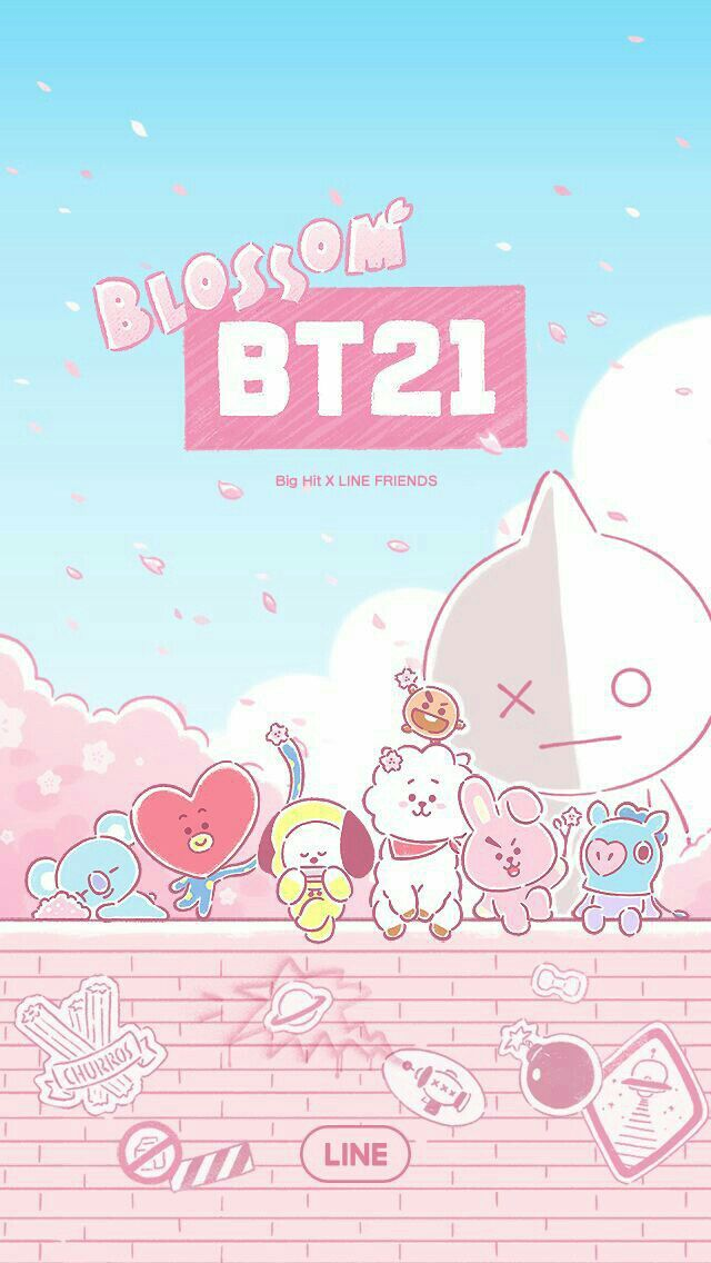 Bts and bt21 wallpapers