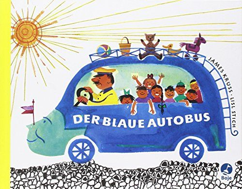 Der blaue Autobus. Ein lustiges Bilderbuch vom blauen Autobus und dem schwarzen Pudel Ottokar von James Krüss http://www.amazon.de/dp/3414131706/ref=cm_sw_r_pi_dp_i-eLwb0794ARV