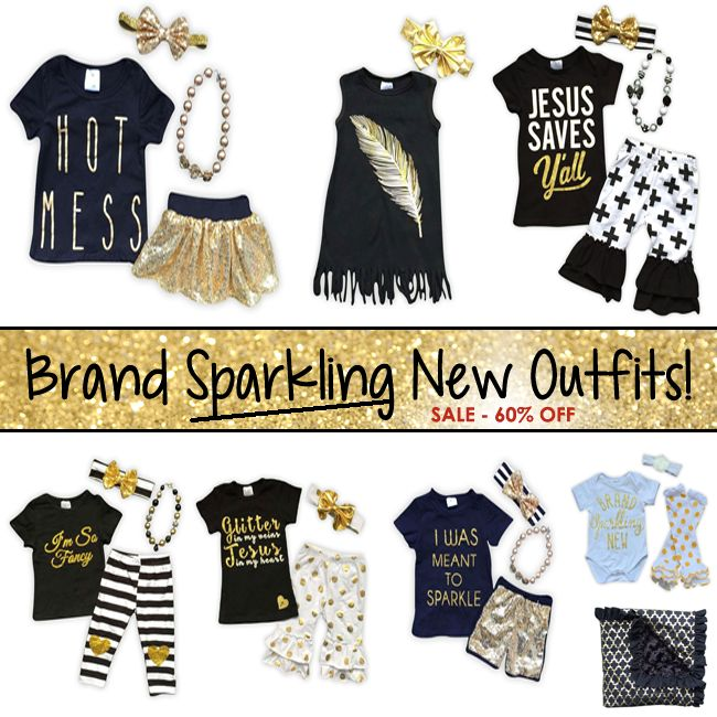 Brand Sparkling New Outfits, shop now!