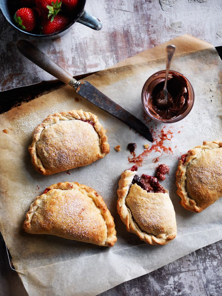 Recipes | Strawberry Chocolate Calzones | Louise Fulton Keats
