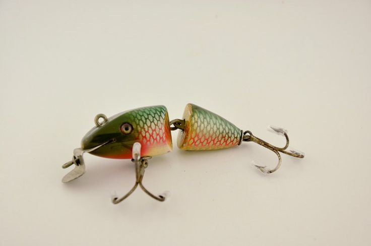 1344 best vintage fishing lures images on pinterest for Antique fishing lures prices