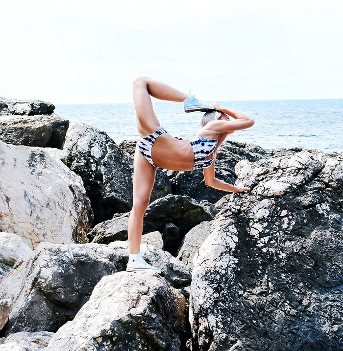 Muitas vezes não conseguimos ver o lado casual de pilotos de linhas aéreas comerciais, mas Maria Pettersson não é uma pilota de avião comum. Ela também é uma sensação na internet que inspira seus 200 mil seguidores no Instagram com seu amor pelo ioga em explorações mundo afora.