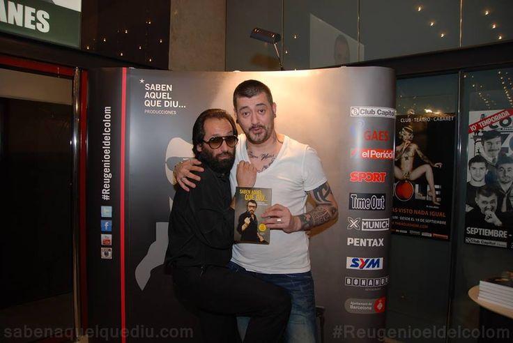 #Reugenio y #ToniMoog en el #ClubCapitol. #risas #humor #chiste #acudit #sabenaquelquediu #reugenioeldelcolom