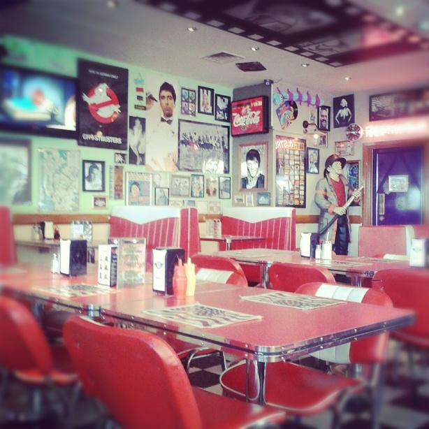 JBs Diner in Brighton. We love it!