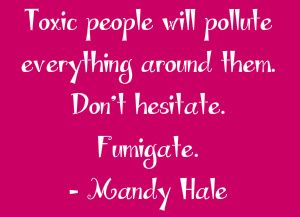 """You can't """"fumigate"""" an ex-wife! ~ How to Deal With Your Husband's Toxic Ex-Wife ~ When you marry a man with an ex-wife, you marry his family, often unfortunately. These tips for dealing with your husband's toxic ex-wife will help you transition into your new marriage without letting her drive you crazy."""