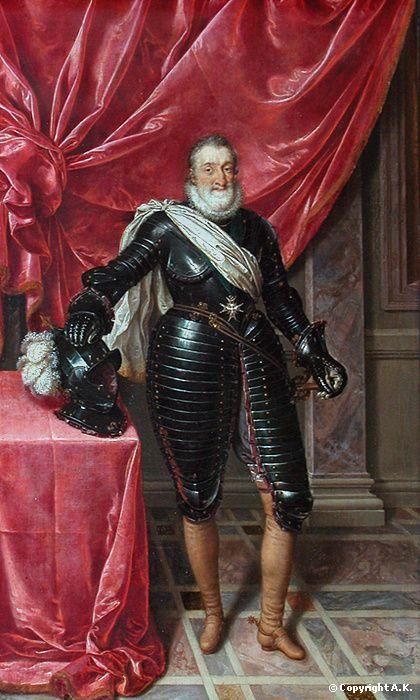 Henri IV, roi de France, en armure - Pourbus le jeune