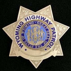 Wyoming Highway Patrol Badge