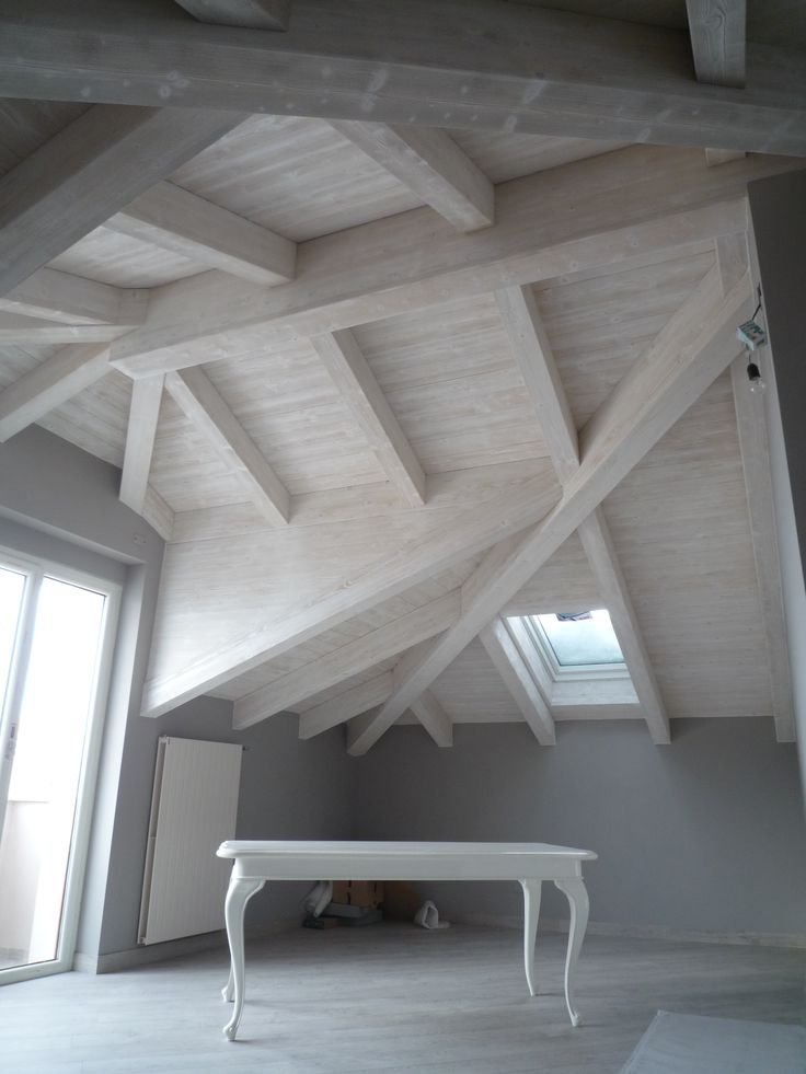 21 fantastiche immagini su tetti in legno su pinterest - Legno sbiancato tetto ...