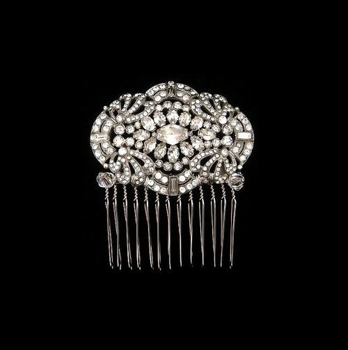 Art Deco Hair Comb Cartier 1920