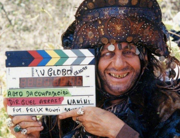 146 | Marco Nanini nas gravações de O Auto da Compadecida (2000)