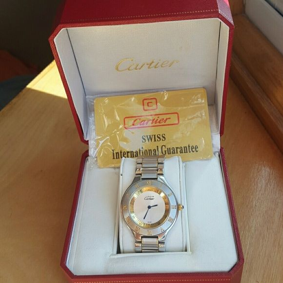 Vintage Cartier watch Cartier watch, unisex. Used condition. Cartier Jewelry