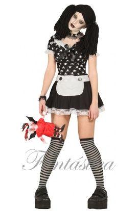 Disfraz Muñeca Diabolica - Disfraz Halloween - Tienda Esfantastica