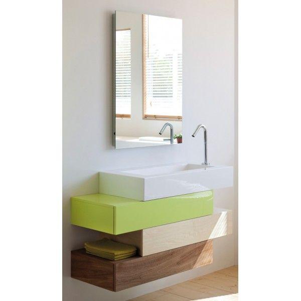 Les 25 meilleures id es concernant sanijura sur pinterest for Meuble lavabo 110