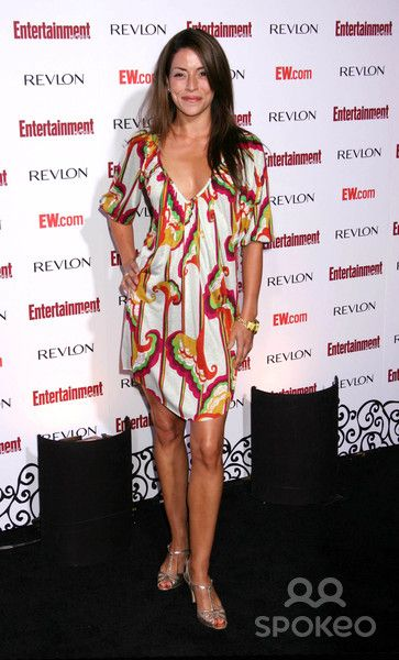 Photo by: RE/Westcom/starmaxinc.com 2007. 9/15/07 Emmanuelle Boidron at Entertainment Weekly's 5th Annual Pre-Emmys Celebration. (Hollywood, CA)