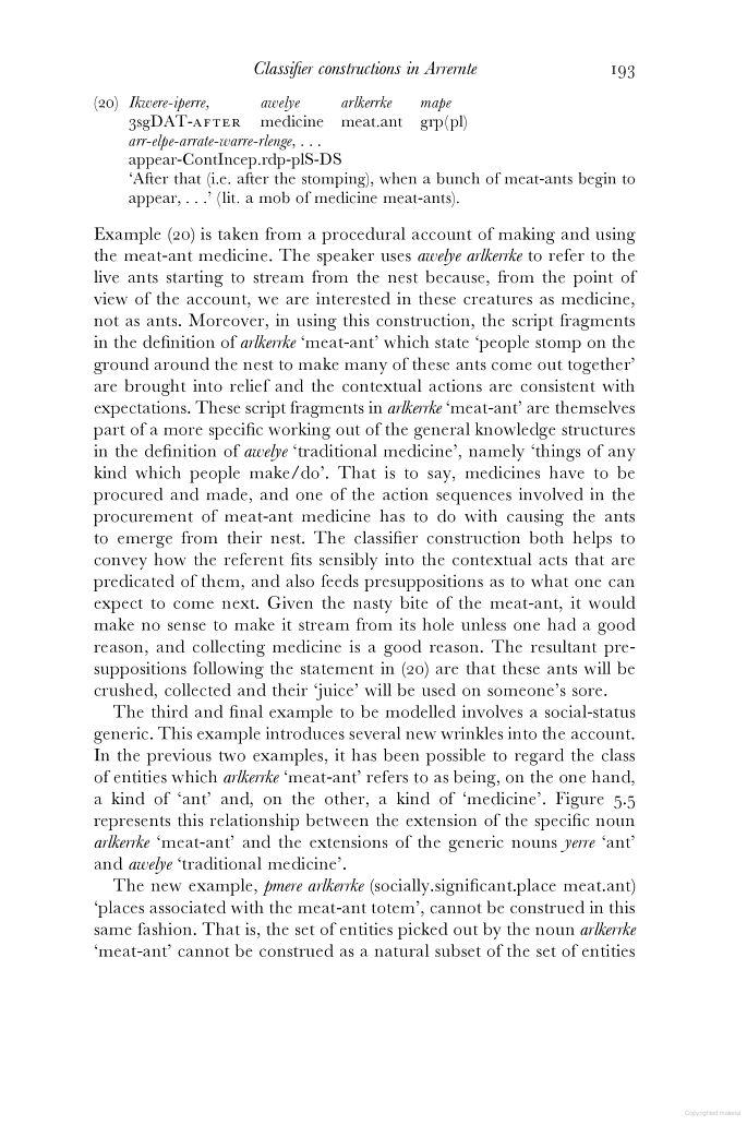 Ants, ancestors and medicine: a semantic and pragmatic account - meat ant medicine... - Google Books