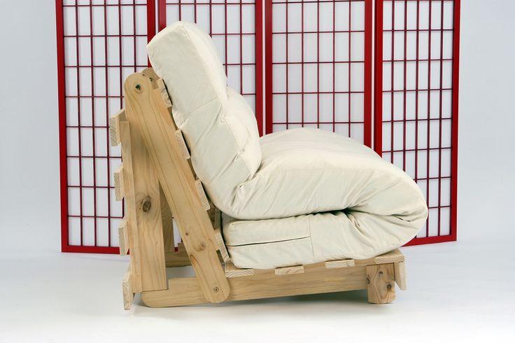 Futon Mattress - Tri fold for 2 seat futon sofas | Kambarys | Pinterest |  Futons, Mattress and Futon mattress