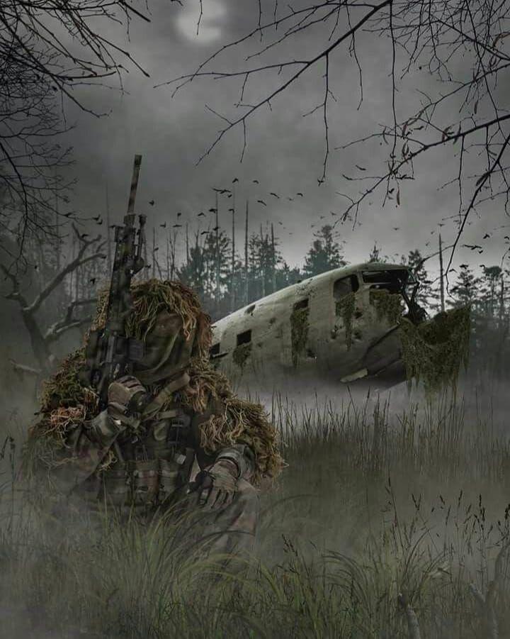 арт фото снайпера также делиться найденными