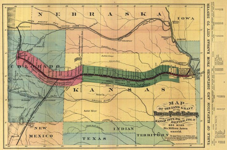 The Kansas Pacific Railroad from the History of Kansas - Wikipedia, the free encyclopedia