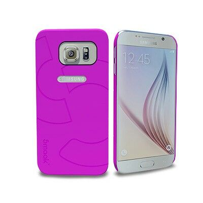 Smaak™ Sleek Ultra Thin PC Case  for Galaxy S6 - Pink .  For more info visit www.ismaak.com