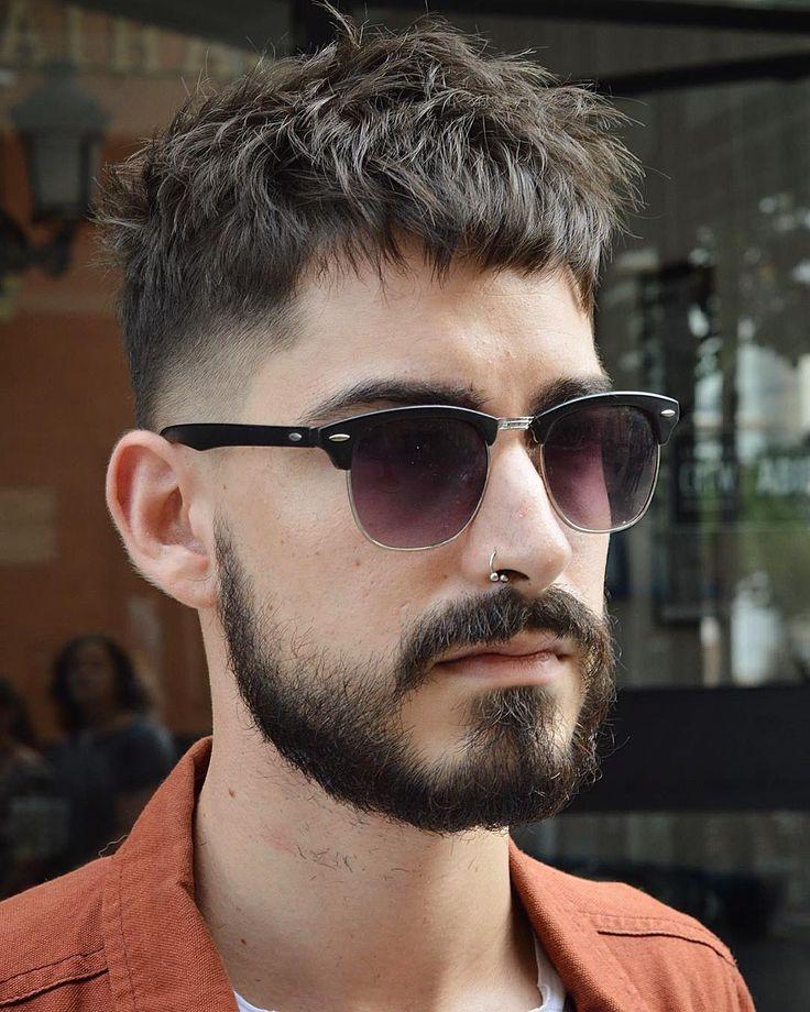 virogas-barbero-sucio-cultivo-corte de pelo corto y peinado fines de hombres