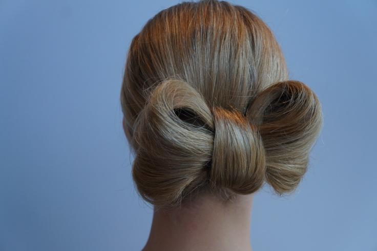 Lovely bow hair