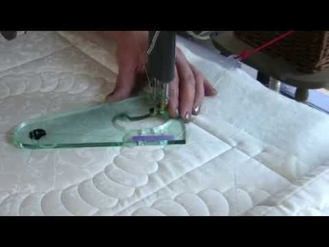 """Circles on Quilts"" Wreath No.1 Rotating Template - YouTube"