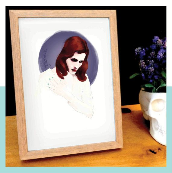 Florence and the Machine Florence Welch by andlizzy on Etsy