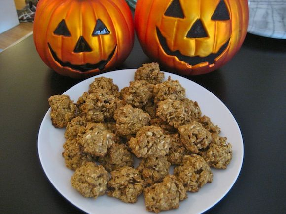 Pumpkin Spice Oatmeal Pecan Cookies | Fall | Pinterest