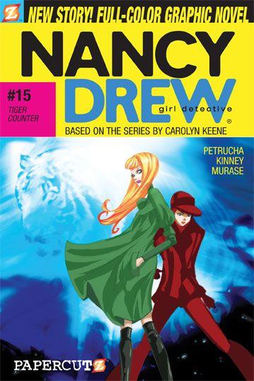 Nancy Drew Graphic Novel  #15 Tiger Counter