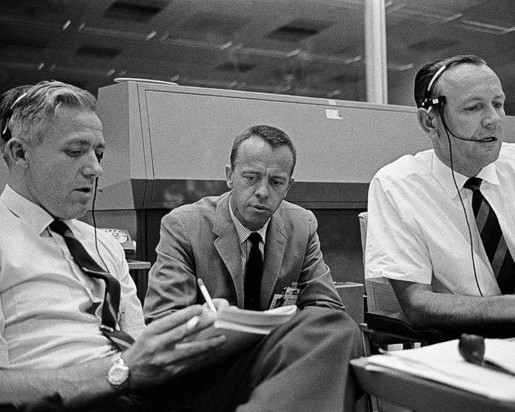 John Hodge Alan Shepard Chris Kraft .