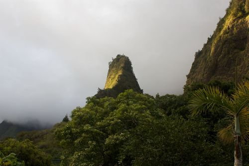 Maui: Iao Valley State Park, which is home to the Iao Needle rock