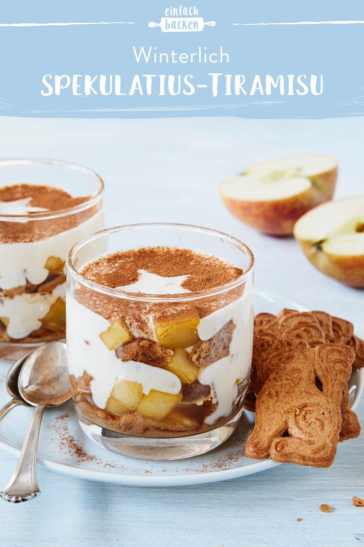 Speculoos Tiramisu   – Einfache Desserts im Glas – Die besten Rezeptideen