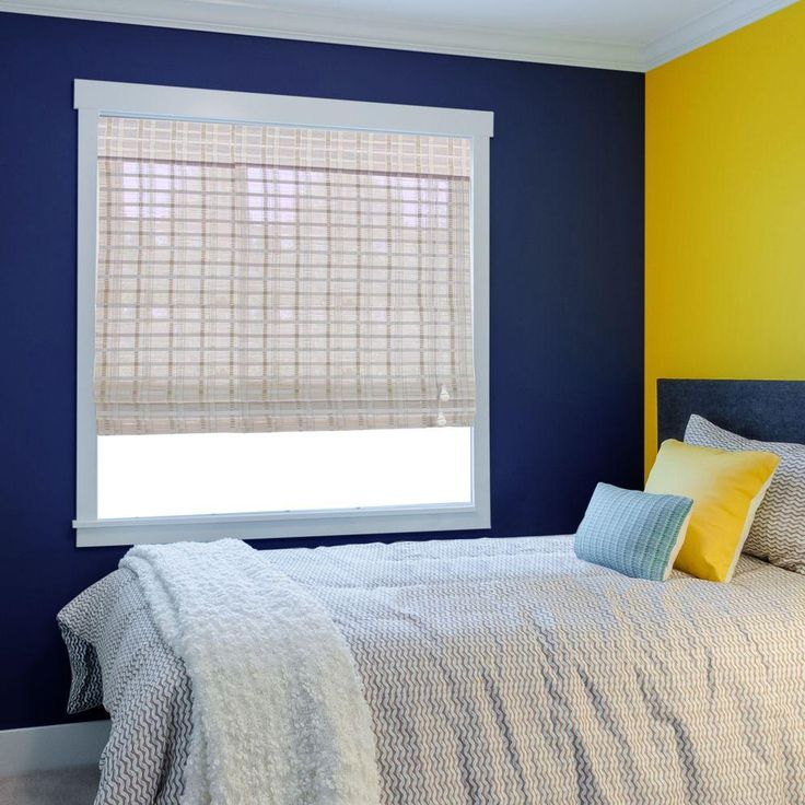 20 best images about bedroom window blinds decorating ideas on pinterest curtain rods small Home decorators collection bamboo blinds