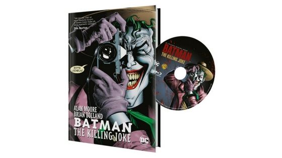 [Angebot] DCU Batman: The Killing Joke inkl. Hardcover Panini Comic (exklusiv bei Amazon.de) [Blu-ray] [Limited Edition] für 1997