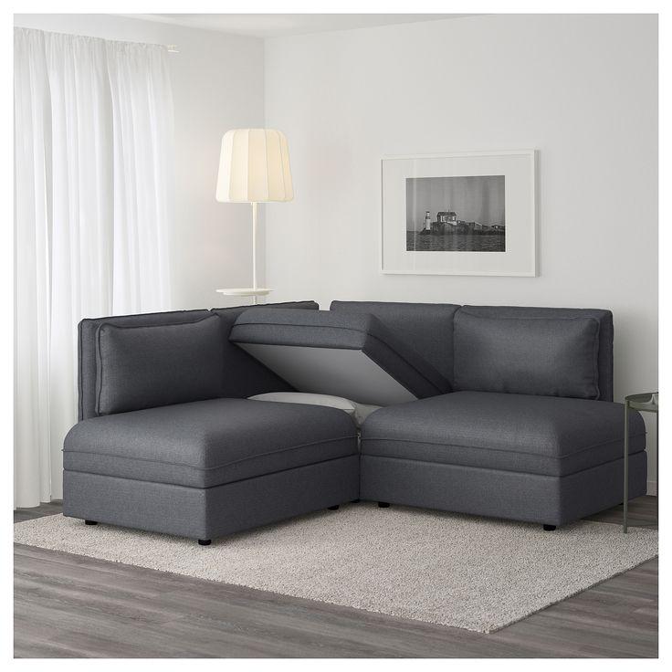 Grey Sectional Sofa Ideas: Best 25+ Dark Gray Sofa Ideas On Pinterest