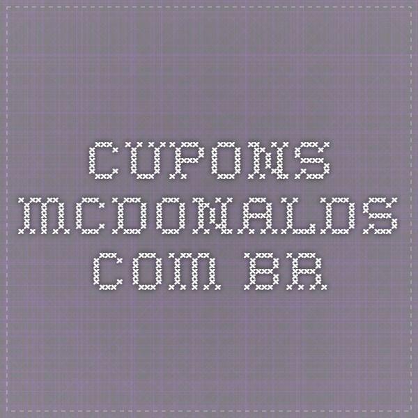 cupons.mcdonalds.com.br