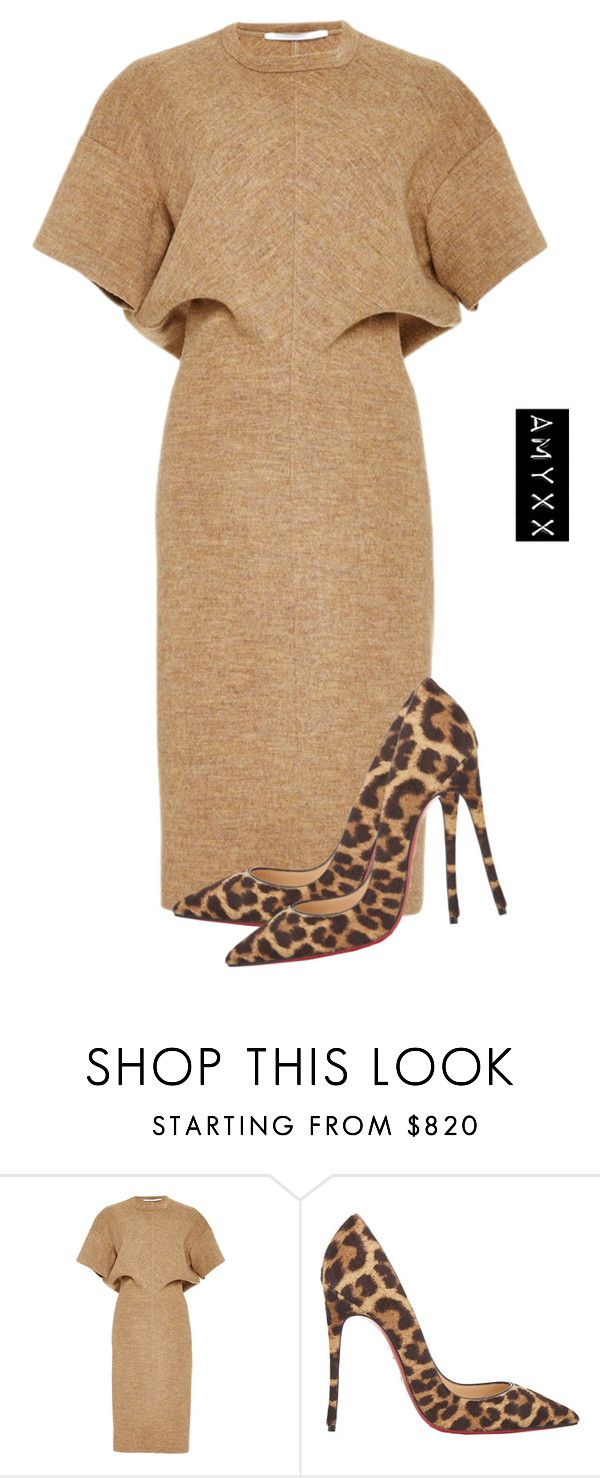 """""""#2659"""" by nineteen92 ❤ liked on Polyvore featuring Rosetta Getty and Christian Louboutin"""