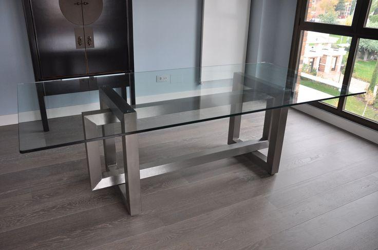 Mesa de comedor / rectangular / de interior / para exterior - THASOS - GONZALO DE SALAS