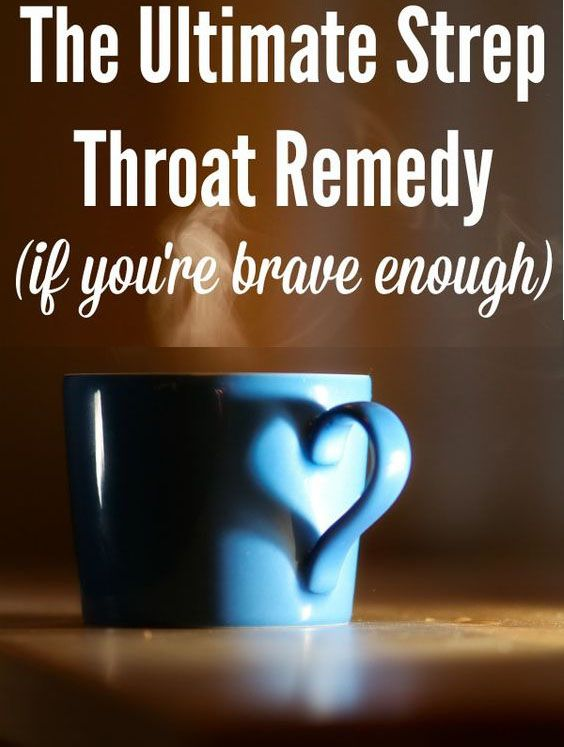 Natural Home Treatment For Strep Throat