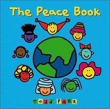The Peace Book by Todd Parr uses themes of diversity,multiculturalism, self empowerment, problem solving