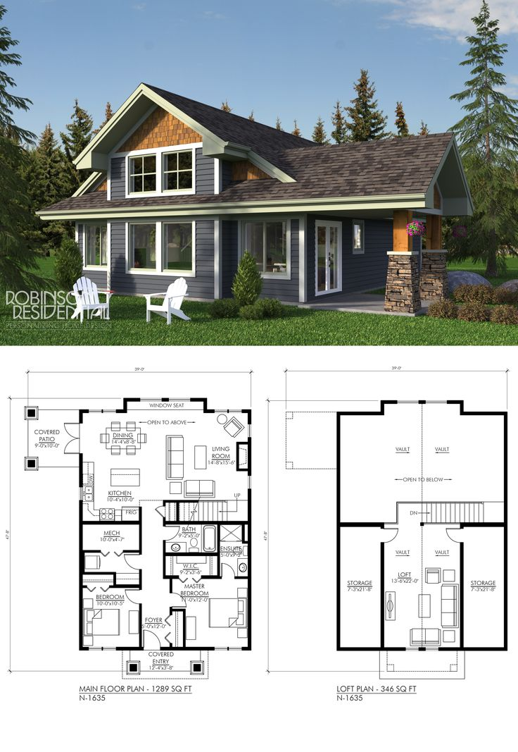 17 best images about craftsman home plans on pinterest for Robinson house plans