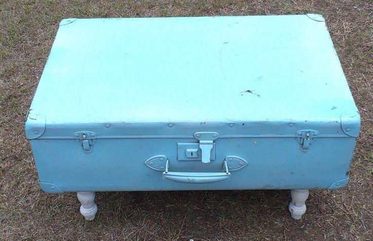 koffie tafel van oude koffer .. lekker vintage